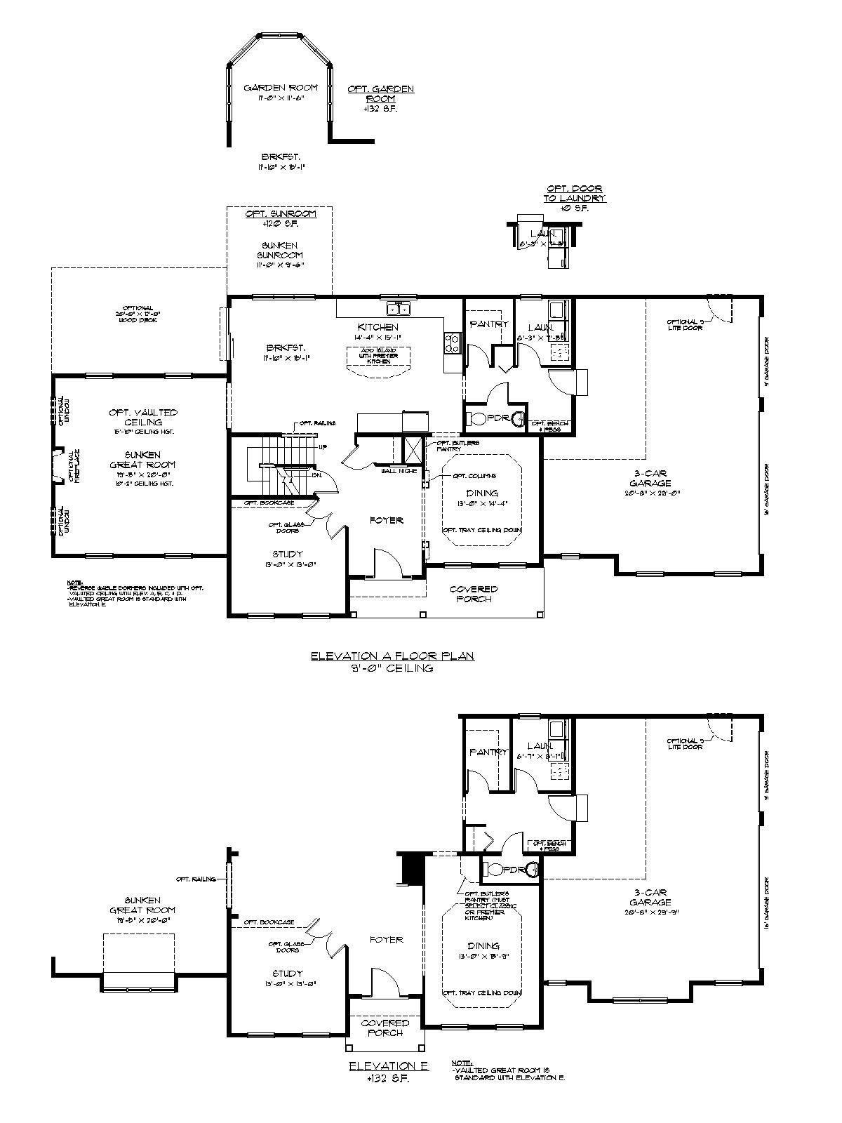 The Ariel Floor Plan First Floor Options Custom Home Builders Custom Homes Large House Plans