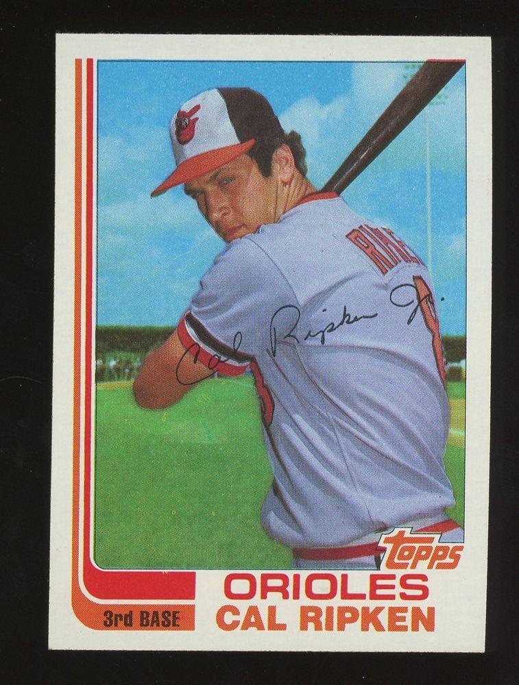 1982 topps traded 98t cal ripken jr baltimore orioles rc