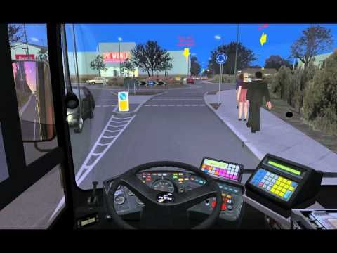 Omsi Bus Simulator Bus Route Driving Test | Training | Bus games