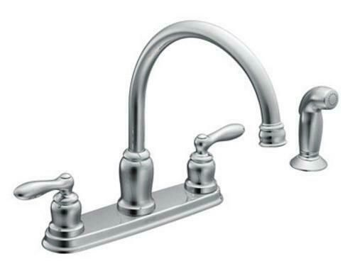 cheap moen kitchen faucets moen ca87888 caldwell two handle kitchen faucet chrome kitchen faucets ideas of kitchen 5827