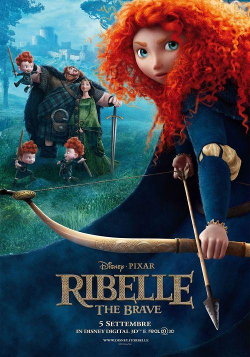 Brave Merida Legende Der Highlands 2012 Disney Filmplakate Pixar Filme Sei Tapfer