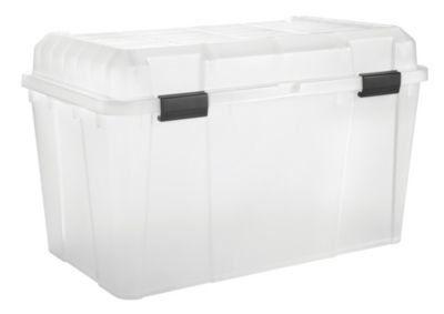 Clear Plastic Storage Trunk - 34.5 Gallon - WY-780 - IRISu2026  sc 1 st  Pinterest & Clear Plastic Storage Trunk - 34.5 Gallon - WY-780 - IRISu2026   House ...