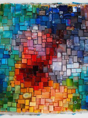 spectrum gradient erin pankratz smith mosaic pinterest mosaique fonds d 39 cran abstraits. Black Bedroom Furniture Sets. Home Design Ideas