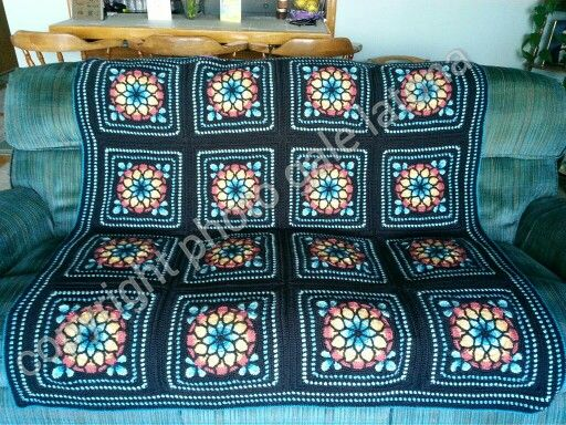 My Stain Glass Afghan