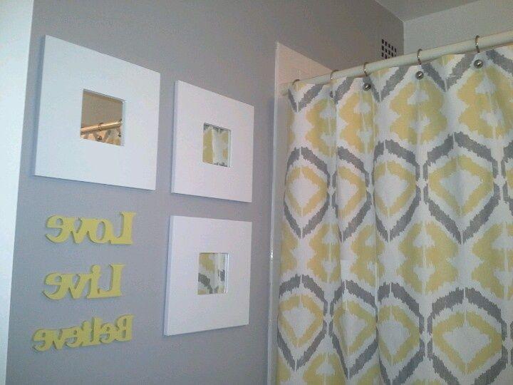 Yellow And Gray Bathrooms Yellow Gray Bathroom Inspiration