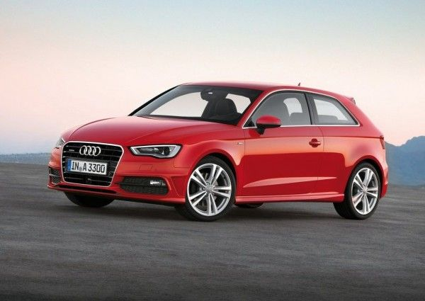 Red Audi 3 Hatchback Sub Special Fiftyshades Red Audi Audi