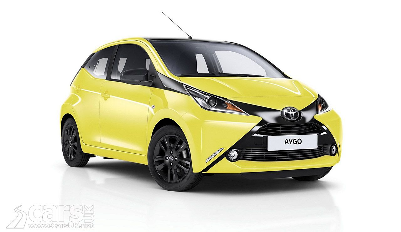 New Toyota Aygo X Cite An Aygo That Thinks It S A Wasp Toyota