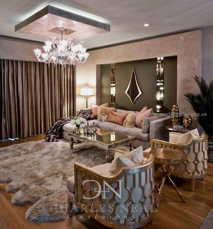 Luxury Living Room  Cool Chairs Luxurious Interior Design Ideas Endearing Luxury Living Rooms Designs Inspiration