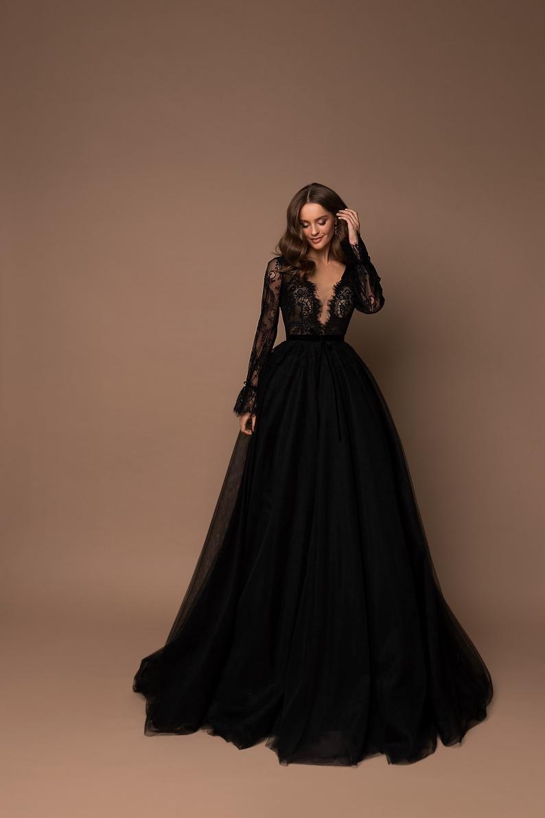 Bridesmaid Dress, Tulle Dress, V-Neck Maxi Dress,