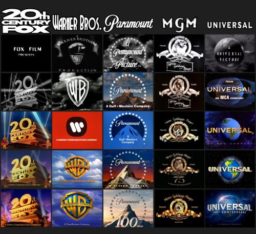 Infograph: How Movie Studio Logos Changed Over The... - Tom Butler