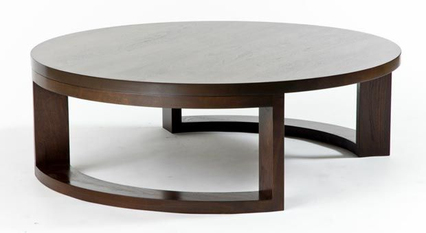 Nature Inspired Furniture Round Coffee Table By Smfd