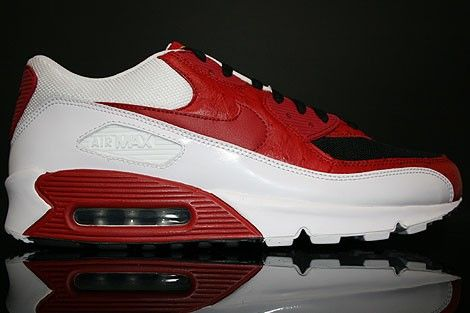 Nike Air Max 90 Heren Sneakers RoodWitZwart,HOT SALE