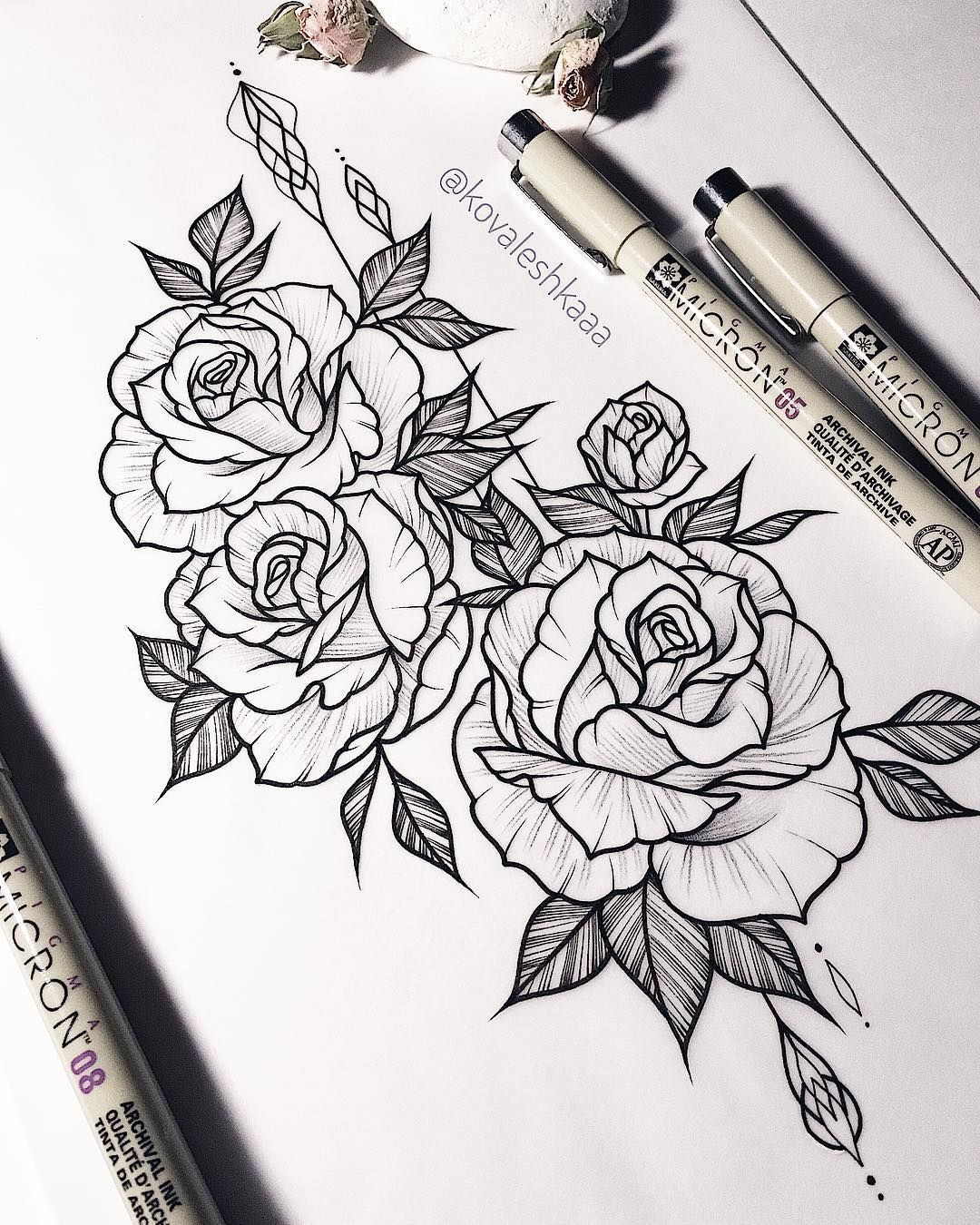 Pinterest Ivkika Flower Tattoo Drawings Tattoo Drawings Tattoos