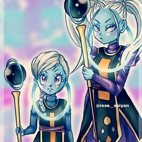 Ángeles universo 10 y 11 Dragon Ball super