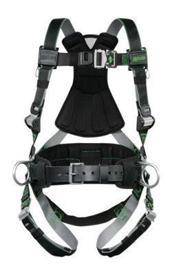 Miller by Honeywell Universal DualTech Revolution Full Body Style Harness  With Back And Side D- 127b30630721