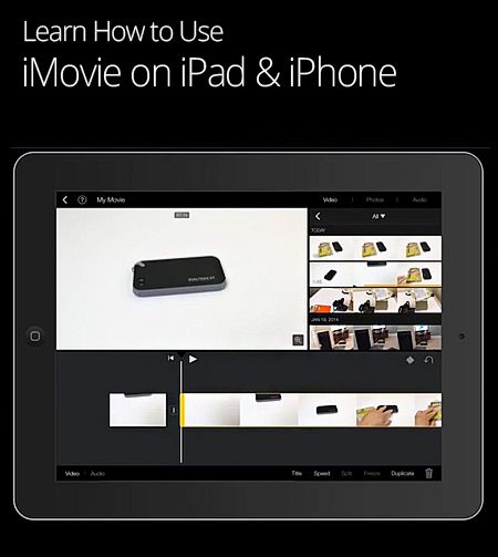 Learn how to use iMovie on your iPad or iPhone with this
