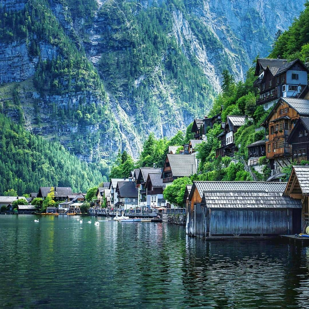 See this Instagram photo by @worldtravelpics • 1,954 likes Hallstatt, AUSTRIA