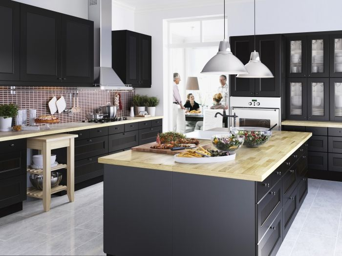 Metod keuken ikea metod keuken kookeiland zwart for Metod keuken