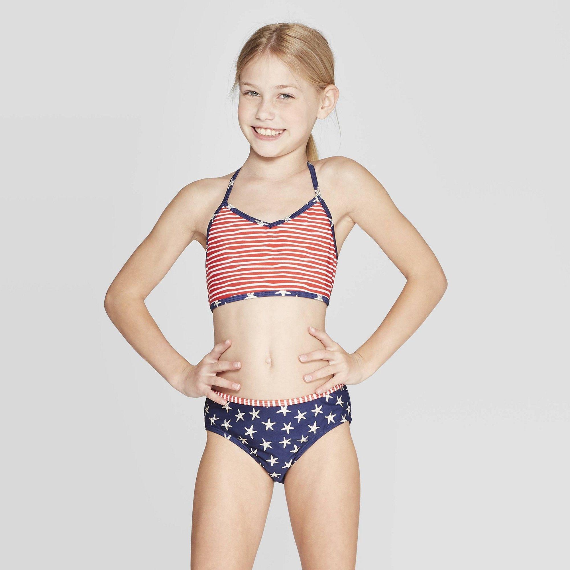 preteen bikini Teen Girl in a Bikini on the Beach