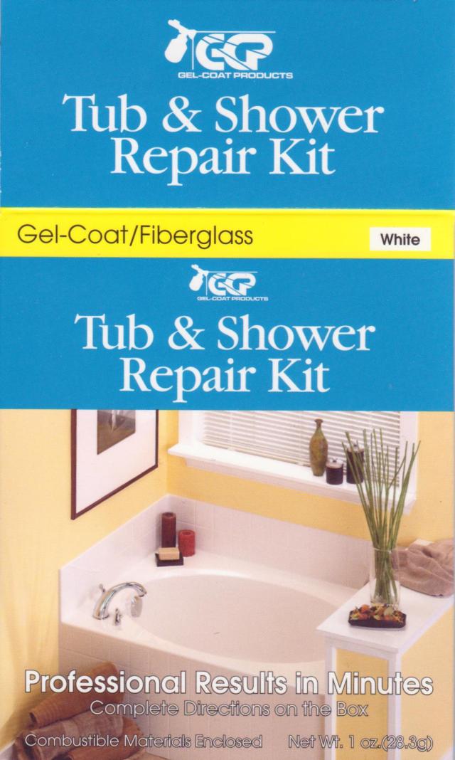 Gel Coat Products Tub Shower Repair Kit Review Shower Repair Shower Tub Shower Basin