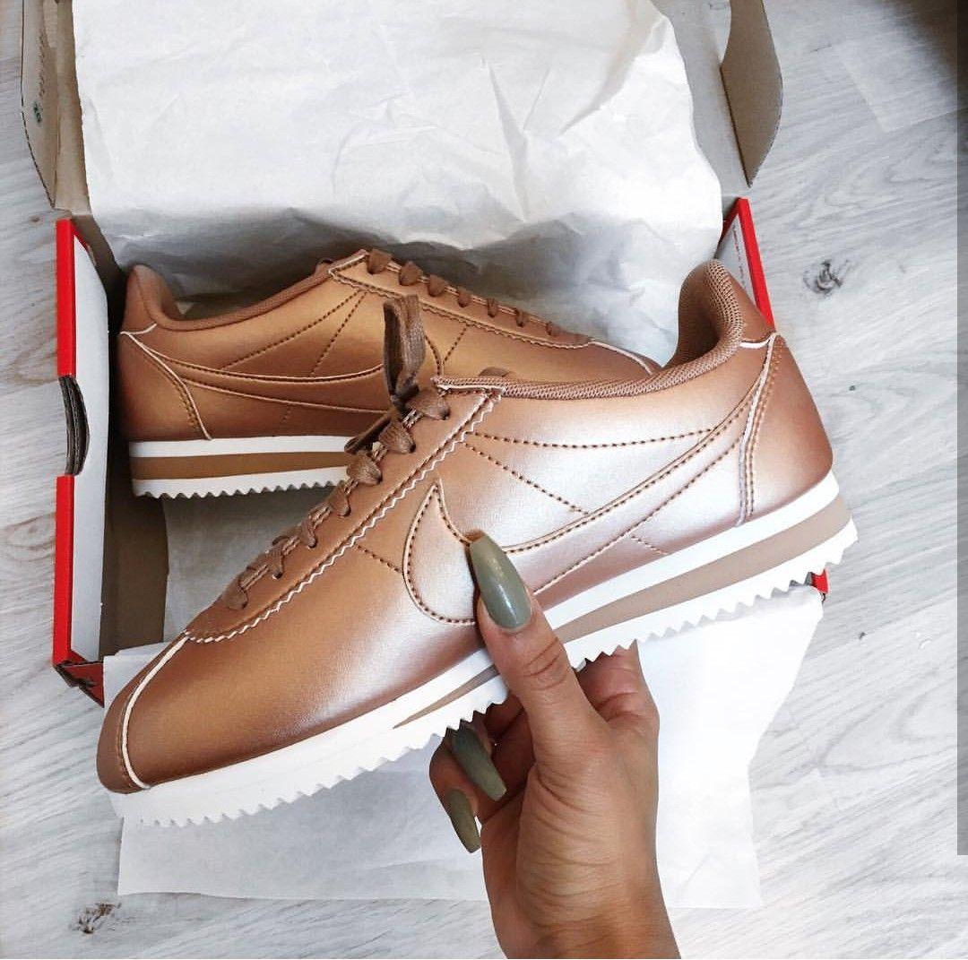 Nike Cortez SE in bronze SNEAKERS, OH MY