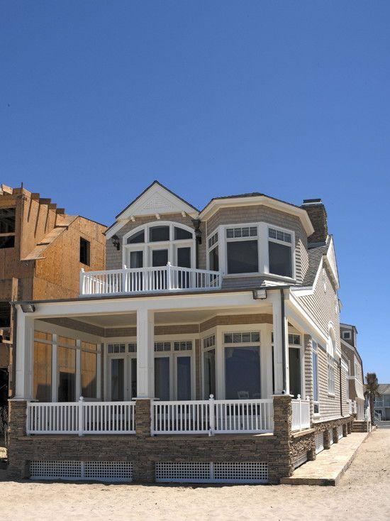 beautiful beach house in contemporary design amazing classic beach house design exterior small porch - Beach Home Design