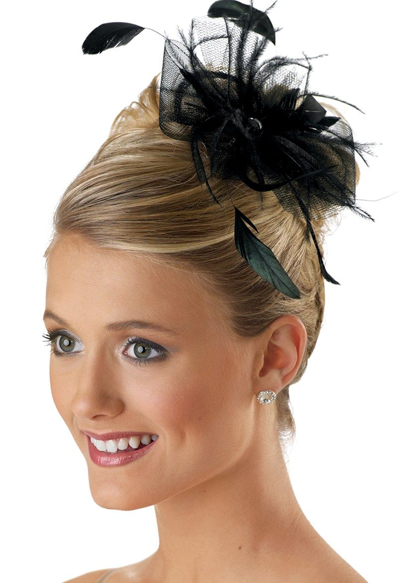 Tulle Feather Hair Pouf | Dance | Pouf hair,