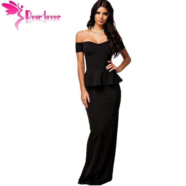Check Lastest Price Dear Lover Hot Vestidos De Festa Longo Black