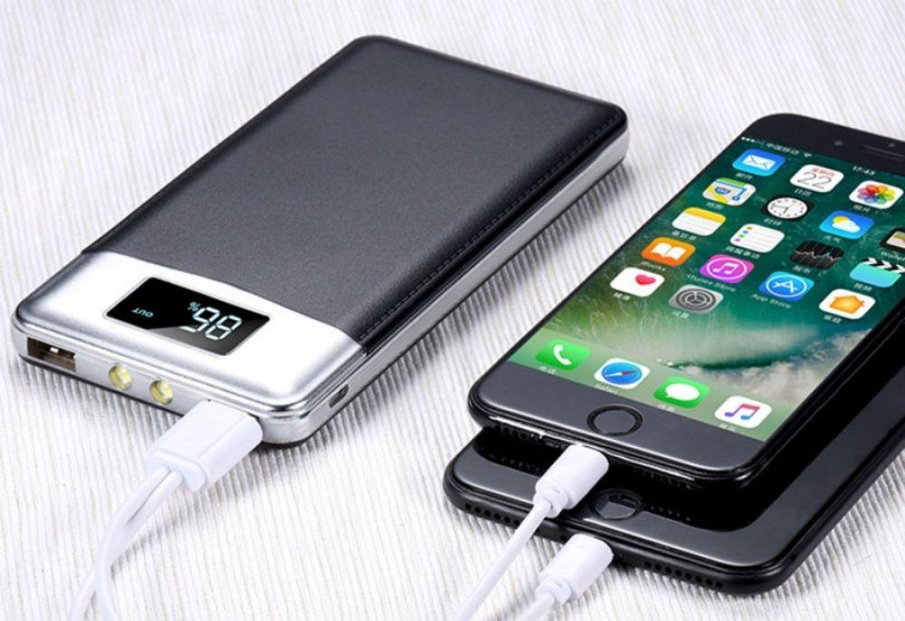Hot power bank 30000mah external battery lcd portable