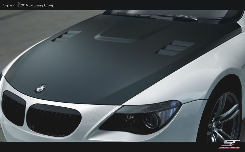 Photo of GRP bonnet for BMW E63 / 64 New !!! M-Look tuning spoiler