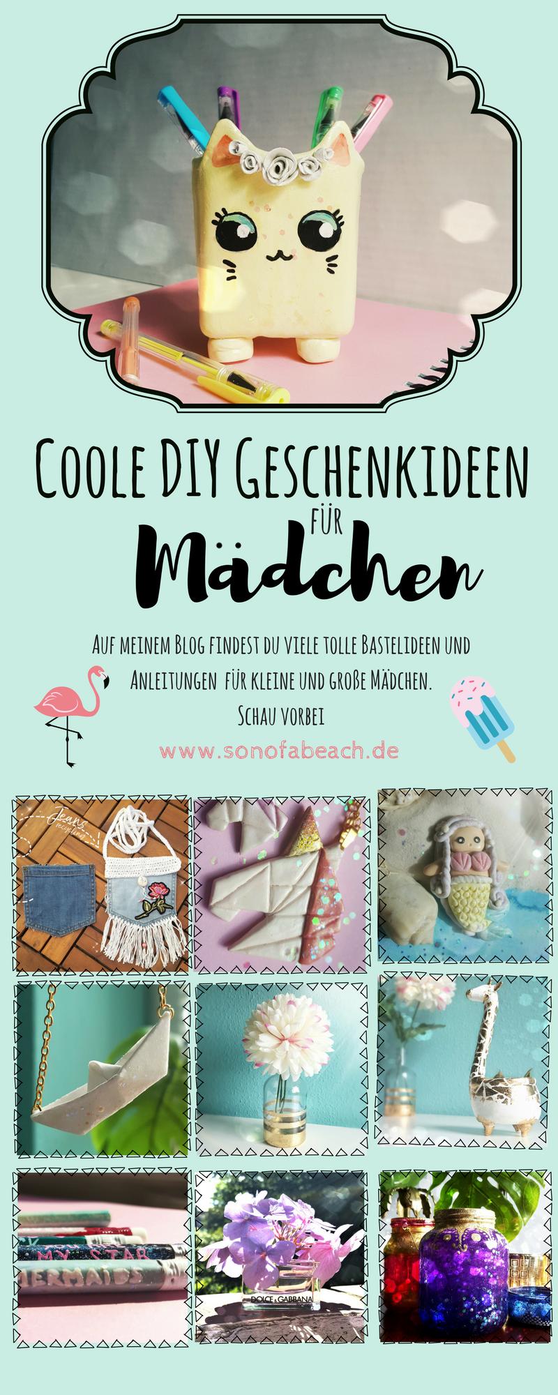 Diy Coole Geschenkideen Zum Selbermachen Fur Madchen To Make
