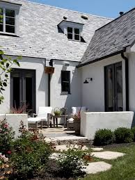 exterior paint color schemes mediterranean white modern roof tile google search