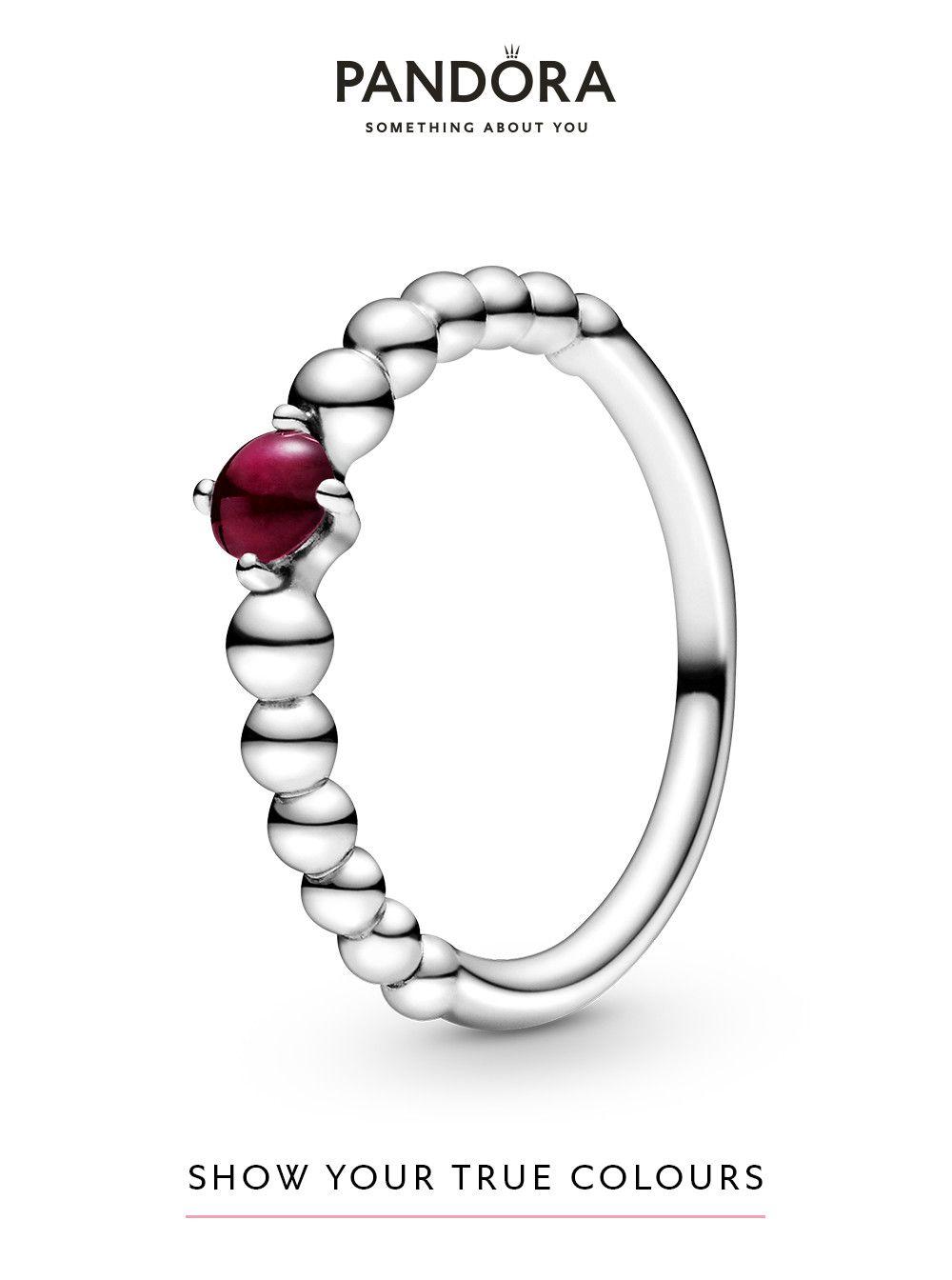 anello pietra natale dicembre pandora