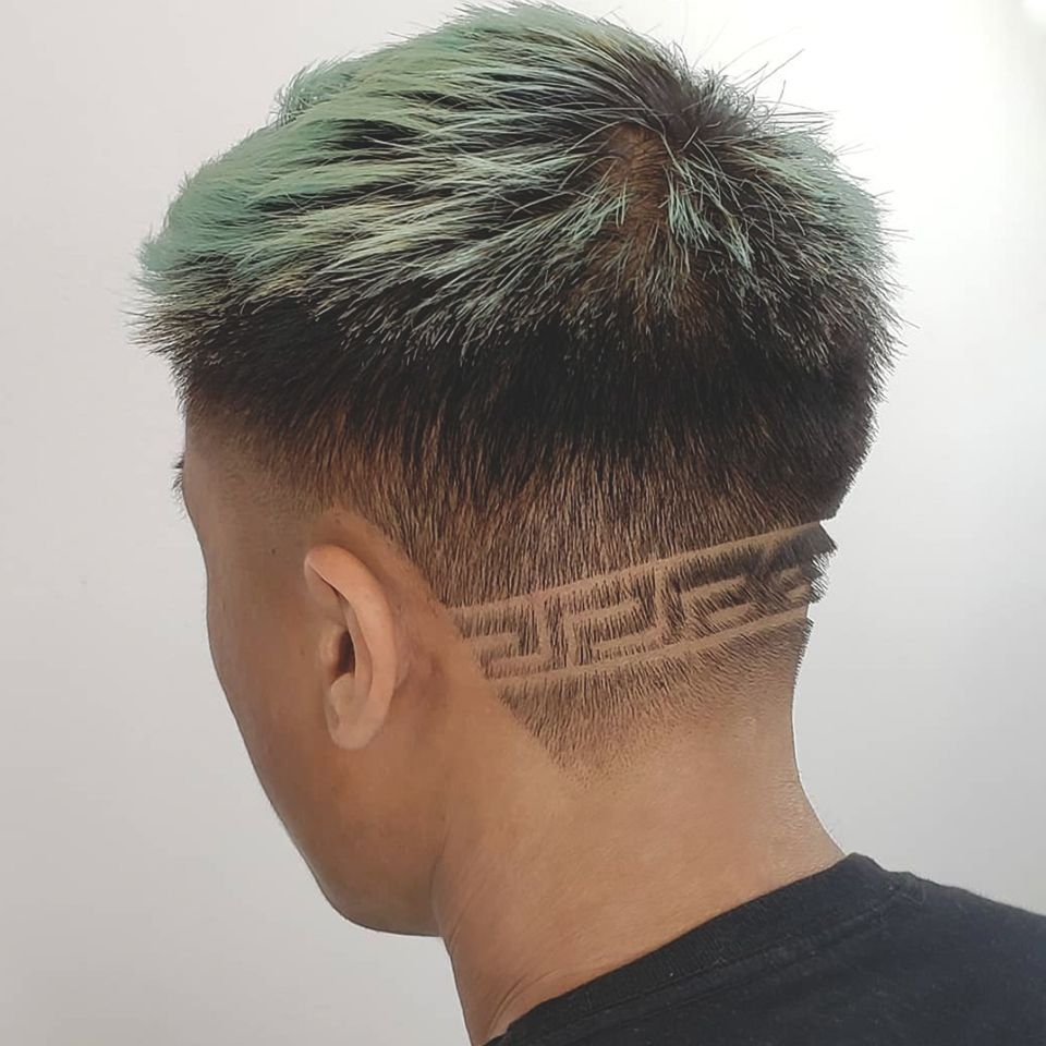 Pin By Paul Mitchell Schools On Pmtsbarbers Haircut Prices Hair Care Services Hair Color Mahogany