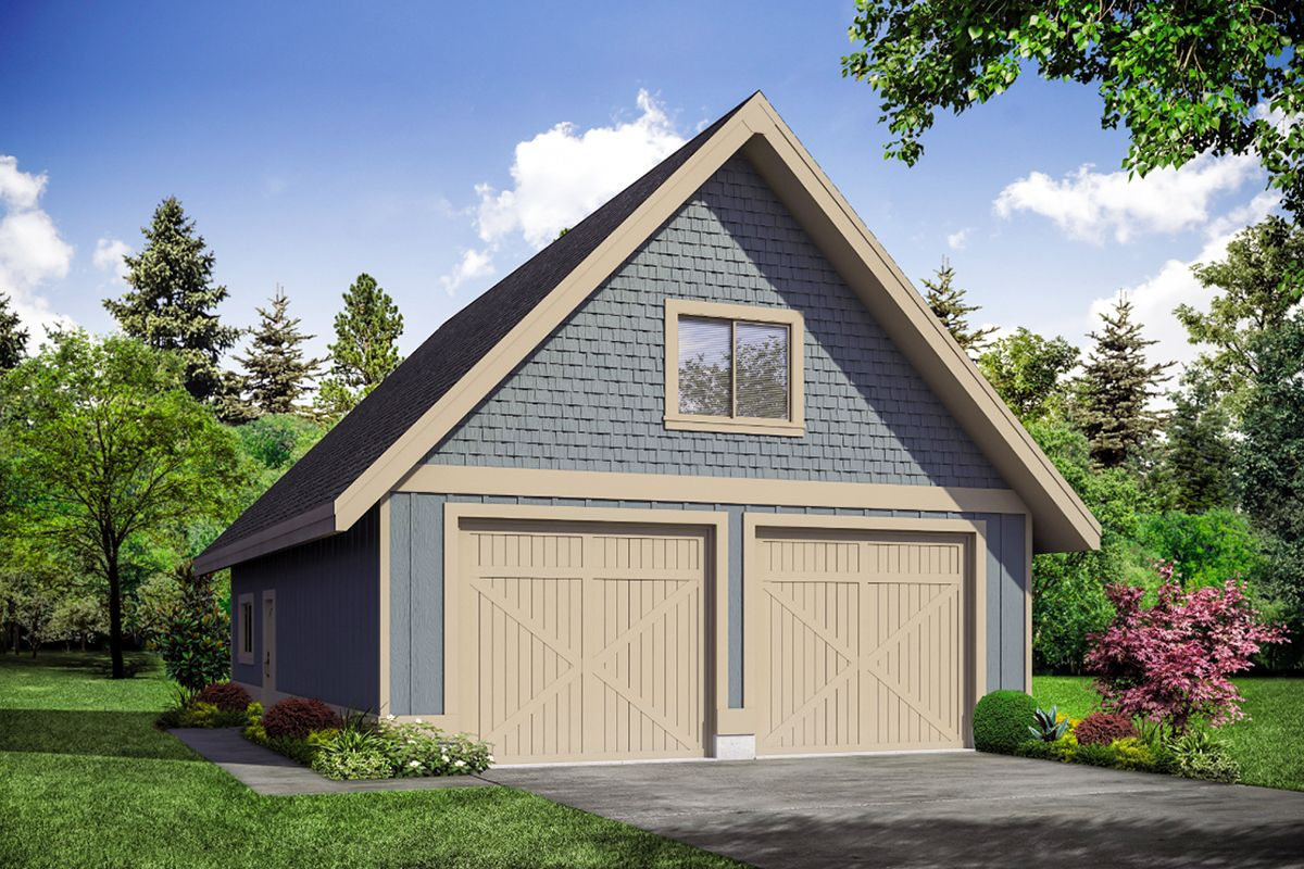 Plan 72952da Country Garage Plan With Upper Storage Level Garage Plans Garage Plan Garage Plans With Loft