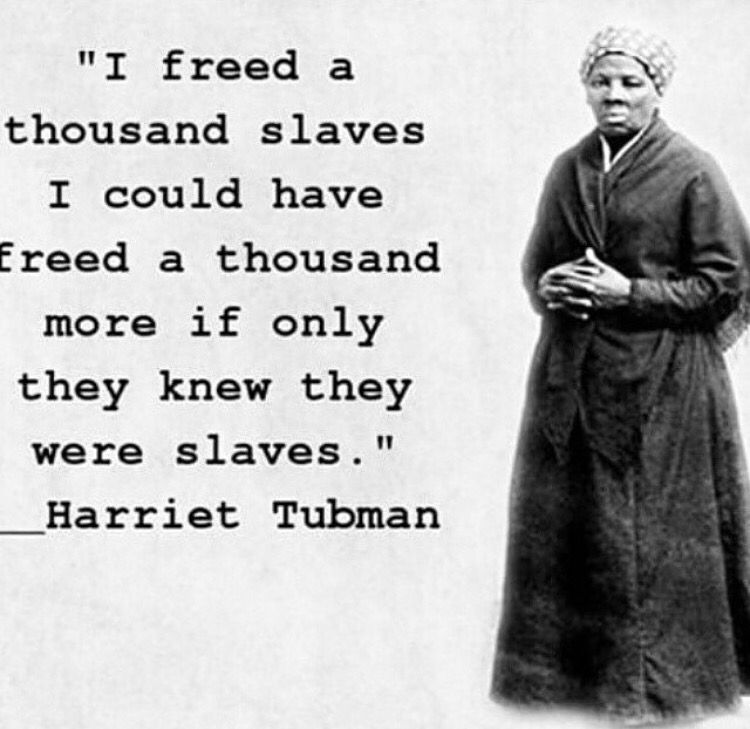 Harriet Tubman (With images) | Radical quote, Harriet ...