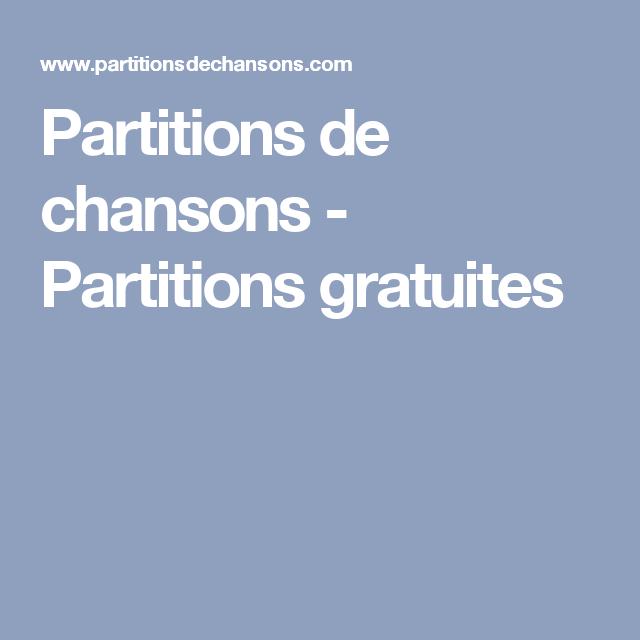 Partition (musique) — Wikipédia