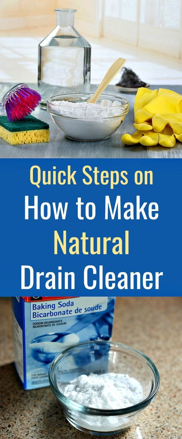 Quick Steps on How To Make Natural Drain Cleaner in 2020