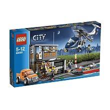 Lego City Lintervention De Lhélicoptère 60009 Seulement Chez