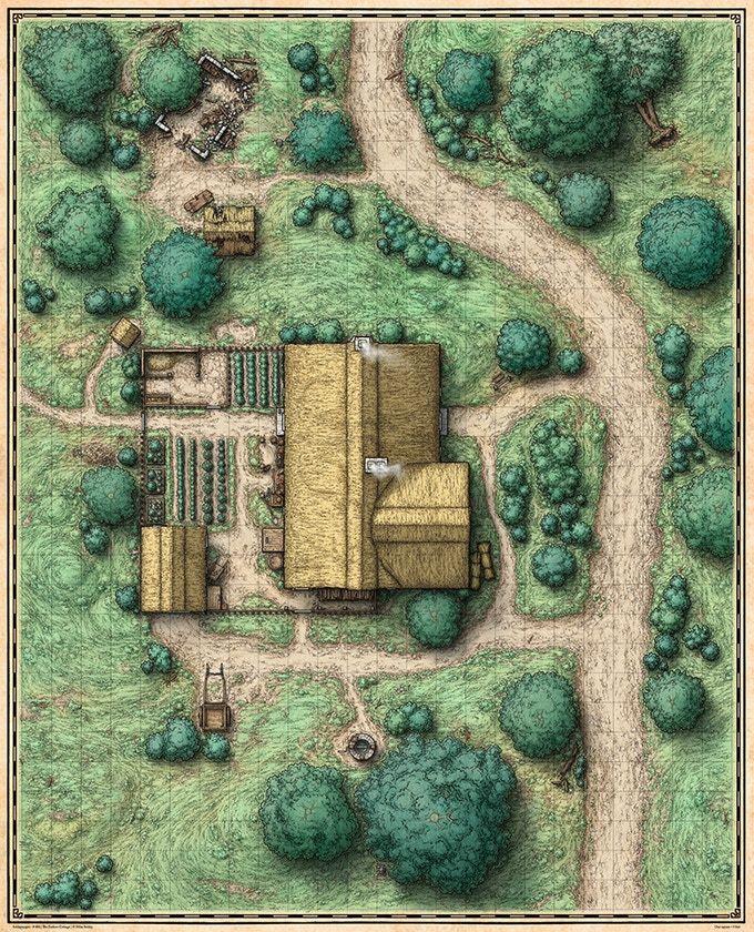 Main Encounter Site Map (Exterior View)