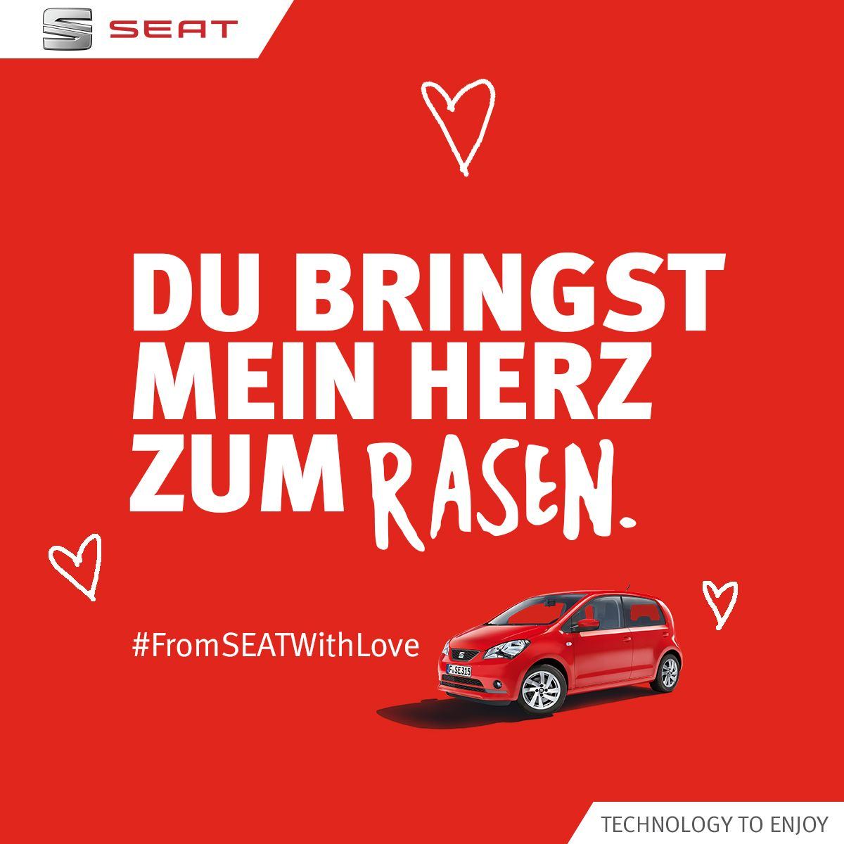 Zeigt Eure Liebe Mit Einem #FromSEATwithLove Valentinstagsgruß.