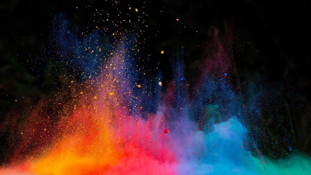 Color Blast Wallpapers Wallpaper Cave Color Dust Dust Explosion Wallpaper