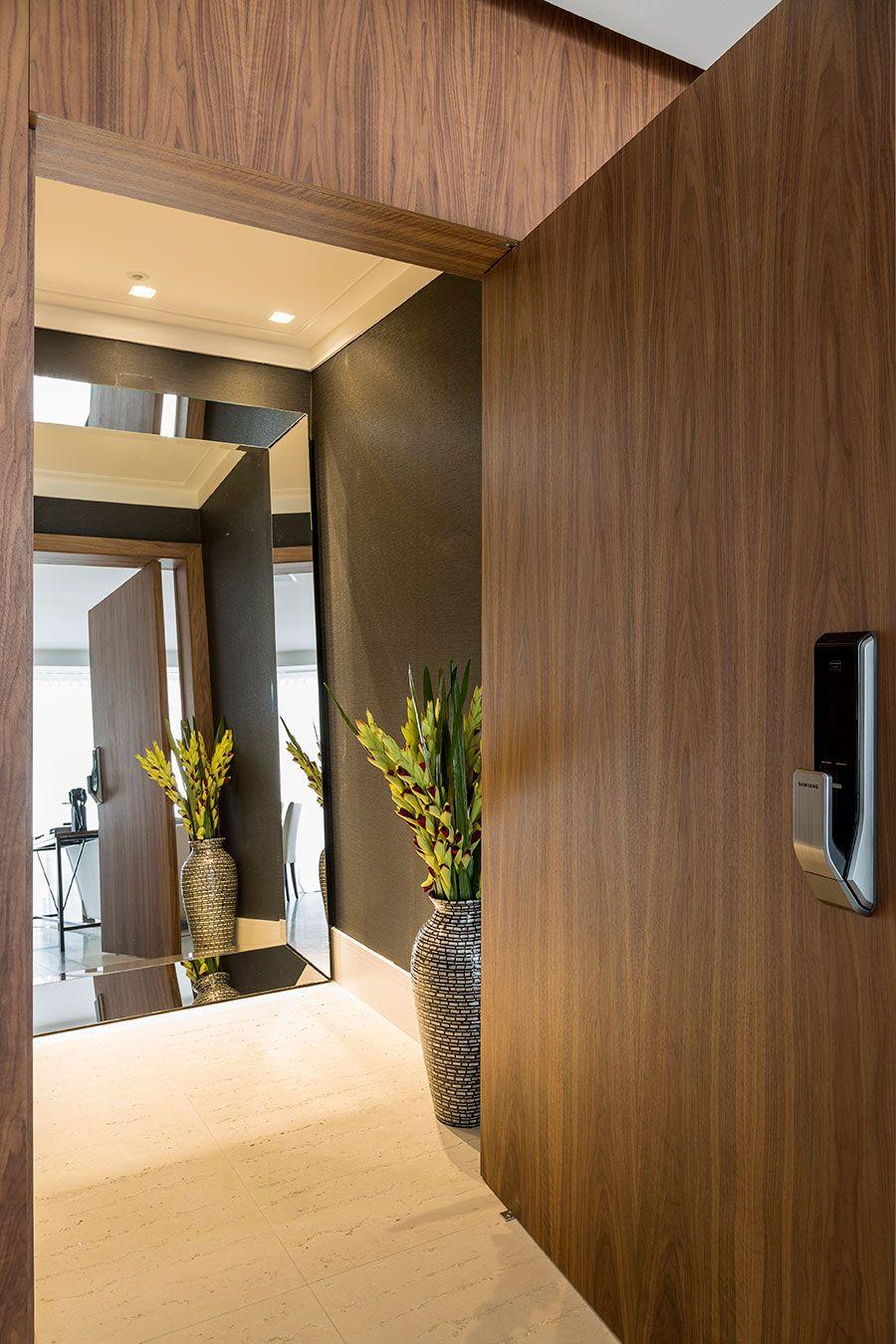 Open House decoraç u00e3o Hall entrada apartamento, Hall do elevador, Decoraç u00e3o hall de entrada -> Como Decorar Hall De Entrada De Elevador