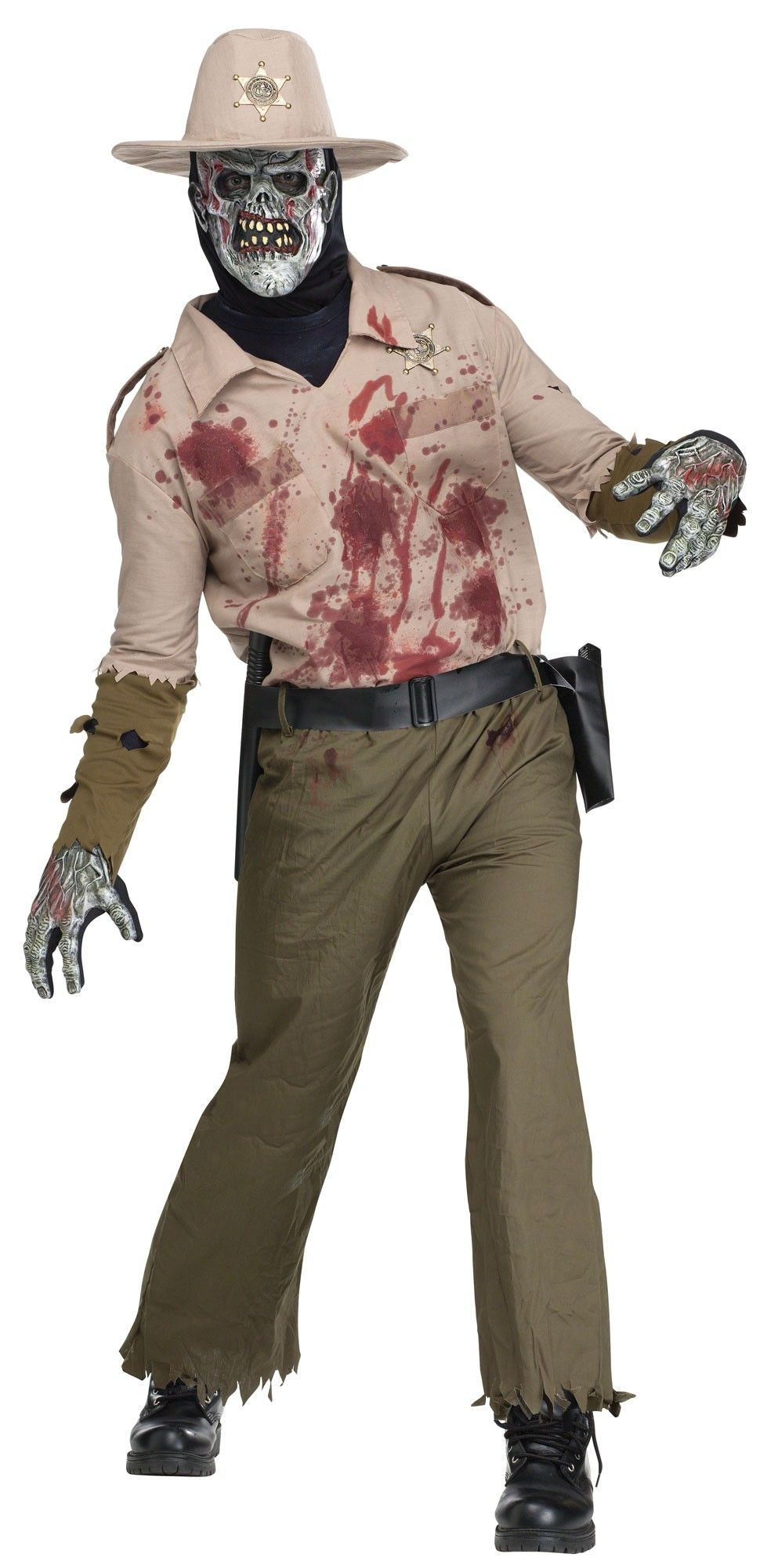 Zombie Sheriff by Fun World  sc 1 st  Pinterest & Zombie Sheriff by Fun World | Scary Costumes | Pinterest | Sheriff ...