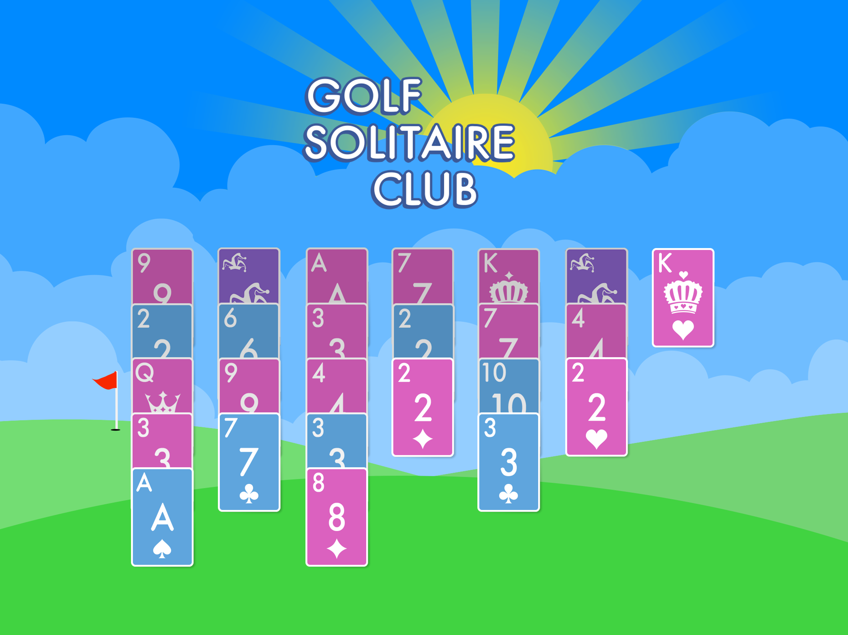 Play Golf Solitaire Club from Glowing Eye Games, maker of