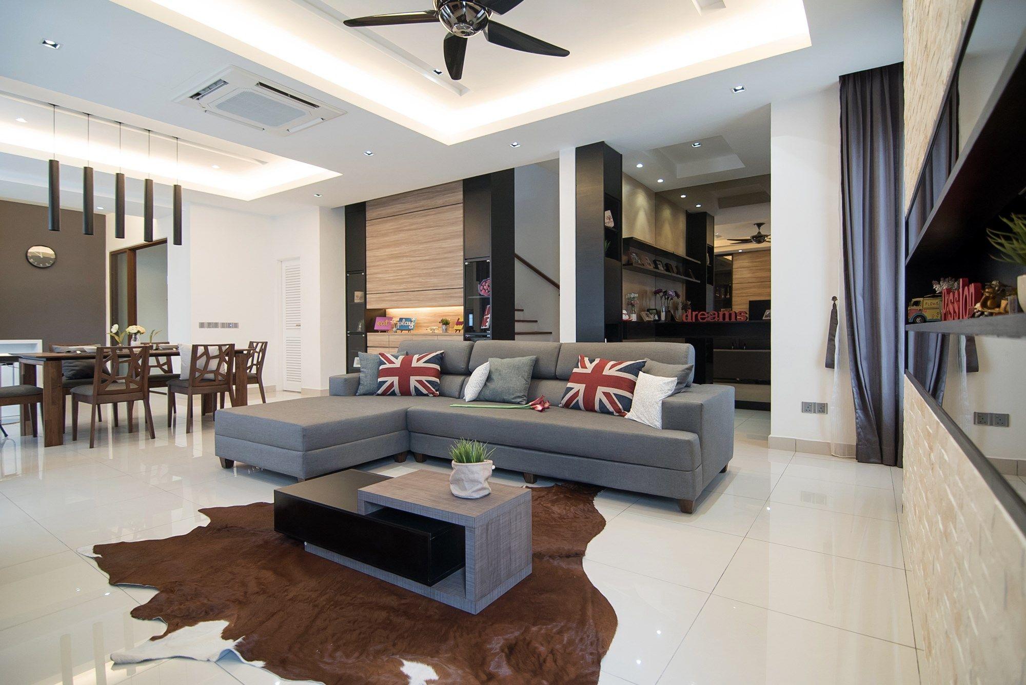 Modern interior design in malaysia
