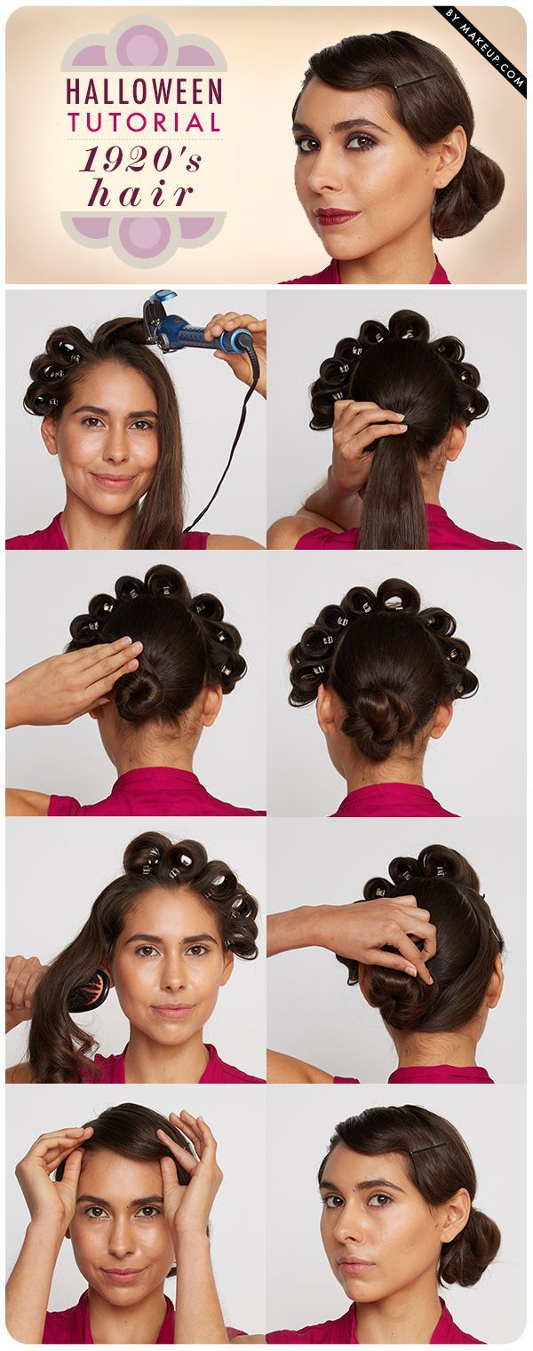 How To Do 1920s Flapper Hair Finger Wave Included Hair