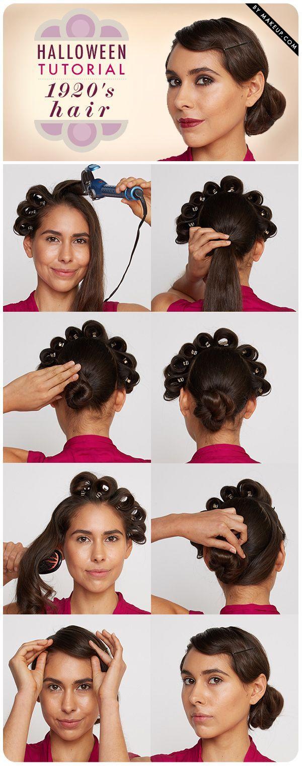 Pin By Gina Pagliaro On Hair Hair Tutorial Flapper Hair Diy Haircut