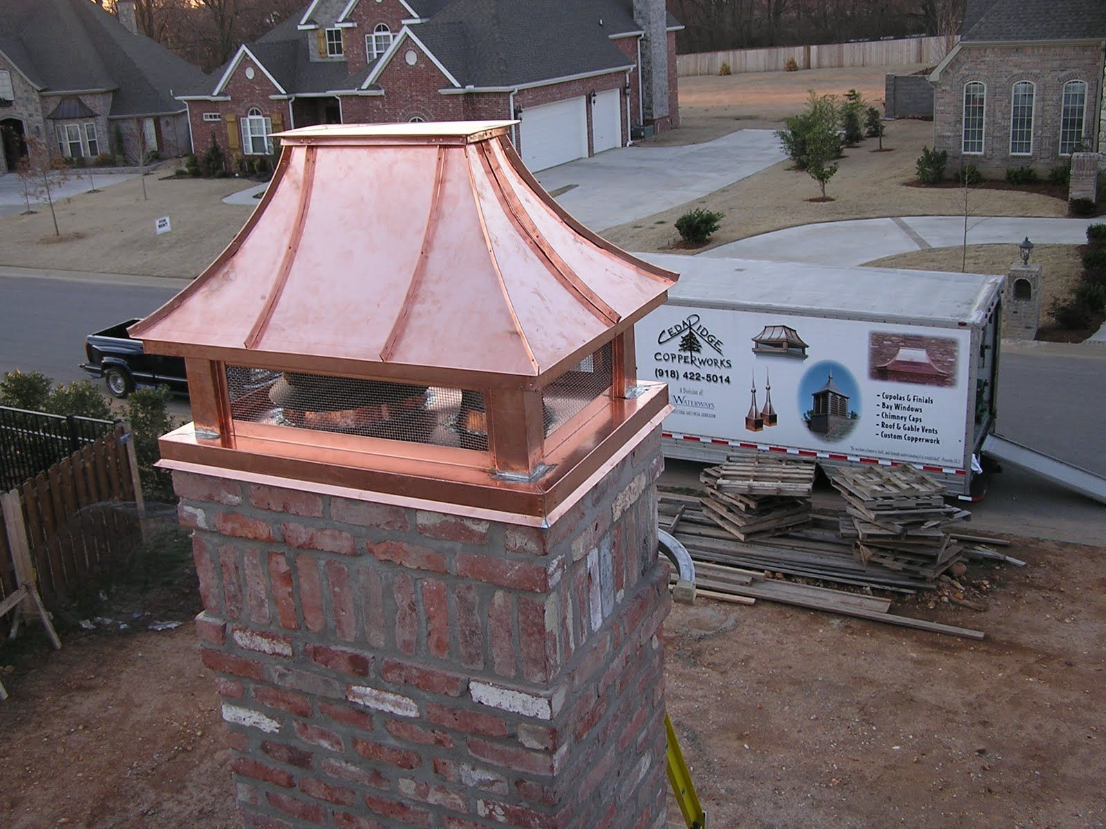 Copper Chimney Caps Chimney Cap Chimney Design Home Decor Copper
