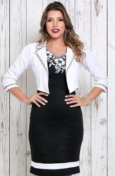 c0196386b TUBINHOS - Floratta Modas | Vestido tubinho com casaquinho ...